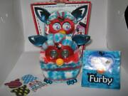 Furby Boom Festive Holiday Sweater Edition Hasbro 2013 Red White Blue In Box