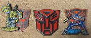 Universal Studios Transformers Collectible Pin Lot Optimus Prime And Bumblebee