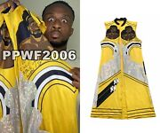 Wwe Big E Ring Worn Hand Signed Autographed New Day Jacket With Proof And Coa 1