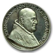 Limited Pope John Xxiii Collectible Medal - Ioannes Pontifex Maximus Anno Coin