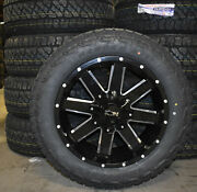 20x9 Ion 141 Black Wheels Rims 32 At Tires Package 6x135 Ford F150 Expedition