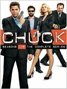 Chuck Season 1 2 3 4 5 The Complete Series Collection 1 - 5 New Region 4 Dvd