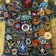 Badge Uniform Military Army Police Officer Air Force Iron On Embroidered Patch
