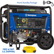 Westinghouse Wgen7500 Dual Fuel Remote Start W 250volt Cord Home Standby Package