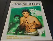 2003 Path To Glory Magazine Signed By Boxer Raul Franco Look