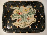 Vintage Pepsi Cola Bigger And Better Metal Tray
