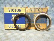 1955-1959 Ford 1956-1965 Mercury Pair Nors Front Wheel Seals 57 58 60 61 46008