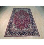 7x11 Authentic Hand Knotted Semi-antique Rug B-71957
