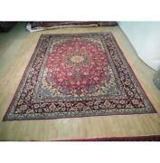 10x13 Hand Knotted Semi-antique Najafabad Rug B-73065