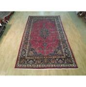 6x11 Authentic Hand Knotted Semi-antique Rug B-72151
