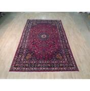 7x11 Authentic Hand Knotted Semi-antique Rug B-71968