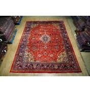 9x13 Authentic Hand Knotted Semi-antique Rug B-74656