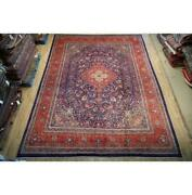 10x13 Authentic Hand Knotted Semi-antique Rug B-74825