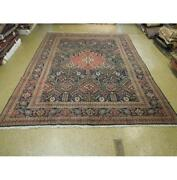10x12 Authentic Hand Knotted Semi-antique Rug Pix-25639
