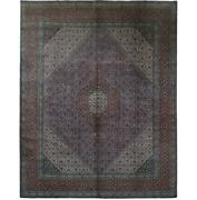 10x12 Authentic Hand-knotted Oriental Signed Wool Rug Red B-82279