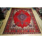 10x13 Authentic Hand Knotted Semi-antique Rug B-74566