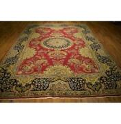 Fascinating 8x11 Authentic Hand-knotted Rug La-52735