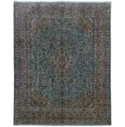 10x13 Authentic Hand-knotted Signed Kashmar Rug B-82234