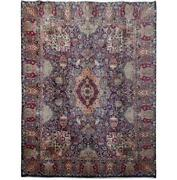 10x13 Authentic Hand-knotted Signed Kashmar Rug B-81258