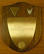 Earle Greasy Neale Triangle Club Of Central Montgomery Pa Plaque Award W/ Photos