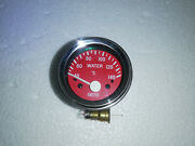 Smiths Replica 52 Mm Electrical Water Temp Gauge Red