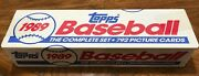 1989 Tops Baseball Cards Complete Set W Rookies Factory Sealed 792 Cards Mint