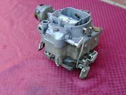 52 53 Cadillac Wcfb Carter 4bbl 2005s Carburetor..nice Coloring..early Take Off