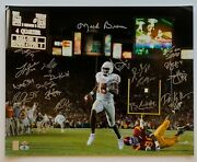 Texas Longhorns 2005 Champ Team Autographed Photograph Signed By 20 Beckett Bas
