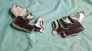 Oem Mercedes Benz 107 Convertible Top Chrome Hinge Covers