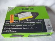 Insignia Ns-dxa Digital To Analog Tv Converter Box W/remote And Cables