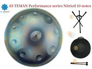 10 Notes Hand Pan Handpan Hand Drum Alloy Steel Percussion Folk And World Drums Rc