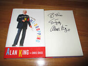 The Life And Lies Of Alan King ... Name Dropping Signed 1996 Book Casino To Eric