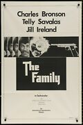 The Family Charles Bronson Telly Savales Orig 1973 1-sheet Movie Poster 27 X 41