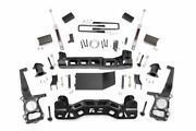 Rough Country 4in Ford Suspension Lift Kit | Strut Spacers 09-10 F-150 4wd