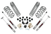 Rough Country 3.75 Suspension And Body Lift Kit For Wrangler Tj 97-06 6 Cyl