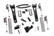 Rough Country 6in Ford Lift Kit|radius Arms W/vertex Shocks 05-07 F-250/350 4wd