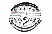 Rough Country 6 Susp Lift Kit 4 For Jeep Wrangler Yj 1987-1996 Manual Steering