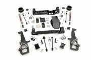 Rough Country Dodge For Ram 1500 4 Suspension Lift Kit 2009-2011 4wd