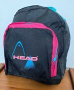 Rare Vintage Head 90and039s Shell Suit Rucksack Days Ack Gym Bag