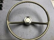 1963 64 Pontiac Catalina Full Size Base Steering Wheel And Center Gm Sd 421 389