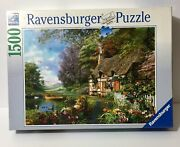 Ravensburger 1500 Piece Jigsaw Puzzle - Country Cottage - Complete Germany