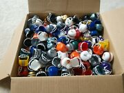 Nfl Mini Helmets Roughly 300 Maybe More Every Team As Of 1989 Plus More Emblems