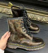 Rare Brand New Vintage Marble Doc Martens Size Uk 4 Us 6 Made In England 90s Mie