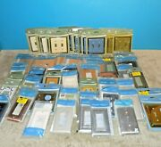Box Lot 80 New Light Switch Covers Betsy Fields Designs And Brainerd Free Shipping