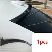 Fit For Cadillac Ats 2013-2020 Dry Carbon Fiber Roof Trunk Spoiler Wing Flap 1x