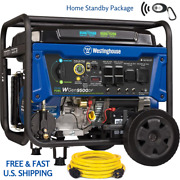 Westinghouse Wgen9500 Dual Fuel Remote Start W 250volt Cord Home Standby Package