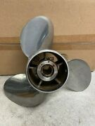Powertech Stainless Steel 3-blade Prop 15 1/4 X 21 P/n Ofs3r21pcl2 Stk 075