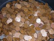 1500 40-50and039s Wheat Pennies S Mints Only