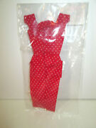 Barbie Dressmaker Details Couture Red Seath Dress Handmade Vintate Style New 1/6
