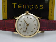 Zenith Stellina Automatic Bumper 18 Kt Gold Year 1952 Cal 133.8 Menand039s Watch